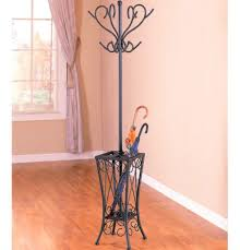 Metal Tree Coat Rack Antique Black Clothes Hanger Stand Metal Tree Coat Rack With 46