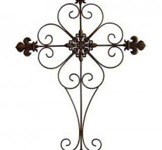 iron wall cross love: this is made of metal decorative cross on the wall is a lovely way to interior