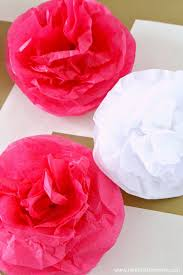 diy tissue paper pom poms a cute decoration that s perfect for any party