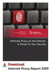 Business Software Alliance Internet Piracy Report 2009