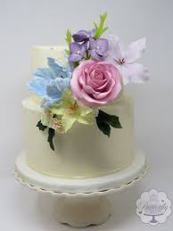 Floral Baby Shower Cake Cake By Butterfly Cakes And Bakes Cakesdecor