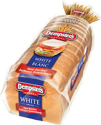 Dempsters White Bread Dempsters