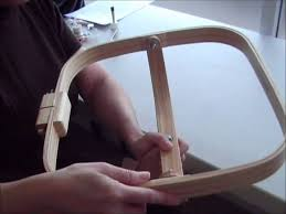 hand quilting hoops / frames by thimblelady - YouTube & hand quilting hoops / frames by thimblelady Adamdwight.com