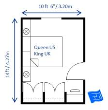 Small Bedroom Design Queen 10 X 14ft ...