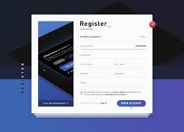 Registration Form Design Template User Registration Form Template Psd Download Psd