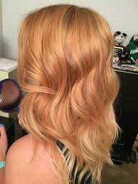 Subtle Ombré Blonde To Strawberry Blonde At Classiebeauty Hair