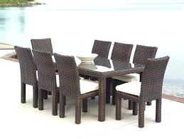 outdoor wicker dining table with glass top wicker outdoor dining furniture dining tables wicker outdoor dining
