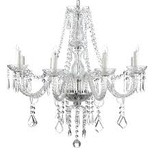 crystal candle chandelier non electric chandeliers under com lighting pillar ers er pendant