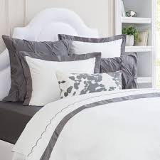 charcoal grey bedding. Delighful Charcoal Bedroom Inspiration And Bedding Decor  The Linden Charcoal Grey Border  Duvet Cover Crane In Bedding I