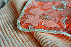 sewing heirloom cut chenille baby blanket