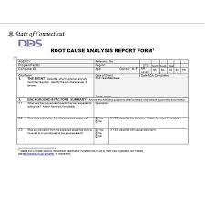Root Cause Analysis Template Beauteous root cause form Erkaljonathandedecker