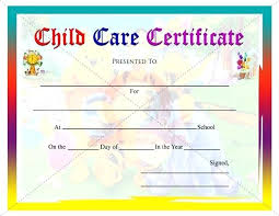 Sample Certificate Of Completion Certificates For Kids Resume ...