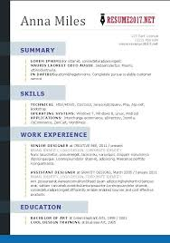 Resume 2017 Templates Chronological Resume Template Free Resume ...