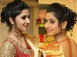 hairstyle for short hair on saree 10 best hairstyles for traditional sarees indian beauty tips