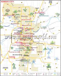 kansas city map map of kansas city missouri