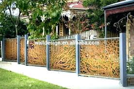 metal panel wall art and wood decor decorative outdoor screen panels for walls