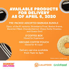 For an extra perk, beginning today, february 24, through march 23, dd perks ® members can earn points toward a free beverage reward twice as fast with 2x points (10 points per dollar rather than. Dunkin Philippines On Twitter Get These Treats When You Order From Dunkin Today Enjoy A Caffeine Boost With D Coffee Box And Our Ground Coffee Pouch Or Satisfy Your Sweet Tooth