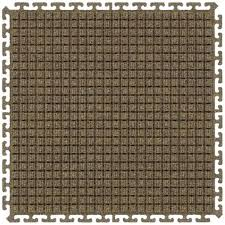 waterhog modular tile square middle 18x18 case of 10 middle tile