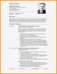 American Curriculum Vitae Format American Resume Format Example Document And Resume