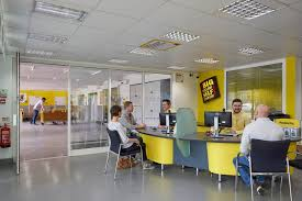 Yellow Office Camberley Store Big Yellow Self Storage Company Office