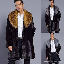 free mens fur jacket mens long jacket fake fur coat winter gy festival burning man costume playa fur coat for men