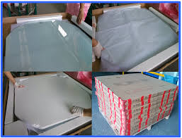 safety blue desk cover glass tempered glass for coffee table top