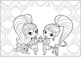Every day new 3d models from all over the world. Shimmer And Shine Coloring Pages Coloring Rocks