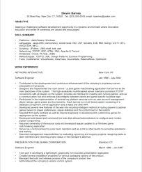 Engineer Resume Objective Software Engineer Resume Objective