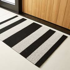 chilewich black and white utility mat