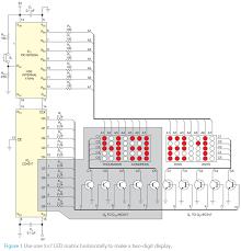 led matrix digital clock circuit diagram meetcolab led matrix digital clock circuit diagram video wall circuit video circuits next