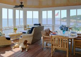 screened porch furniture. Screened Porch Furniture Mediterranean With Wood Beams Mount Ceiling Fans