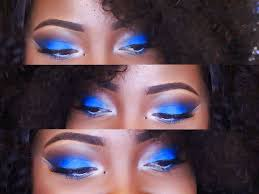 today s look is just simply a blue smokey eye with brown lips i hope you enjoy x