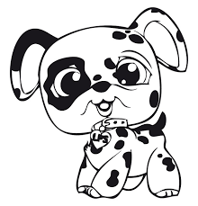 Small Picture Littlest Pet Shop Coloring Pages GetColoringPagescom