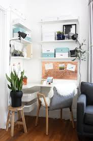 interior office space. work corner for a small space interior office