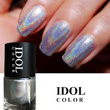 Idol Color 10ml Laser Series 301 Vysoké Ingredience Holografického Nehtu Super Shine Holo Nail Art Vanish Polish