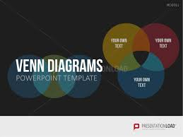 Powerpoint 2010 Venn Diagram Powerpoint Charts Diagrams Chart Templates Presentationload