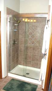 walk in shower cost innovative replace