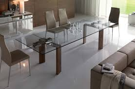 contemporary glass dining room tables. dining room tables with extension leaves for fine glass table photo perfect contemporary