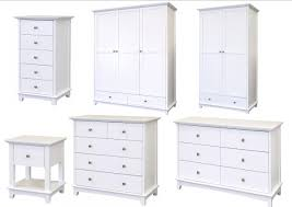 White Bedroom Chest Of Drawers Toulouse White Painted Bedroom Furniture  Bedside Ches On Nine Drawer White