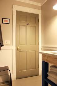 interior door painting ideas. Painted Door, White Trim. Love! Interior Door Painting Ideas T