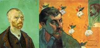 arle vincent van gogh paul gauguin self portrait