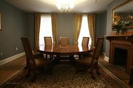 Oversized  Round Mahogany Table With Light Walnut EBay - Oversized dining room tables