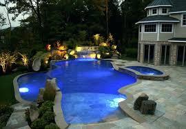 indoor swimming pool lighting. Swimming Pool Lighting Design Outdoor Beach Entry Ideas . Indoor F