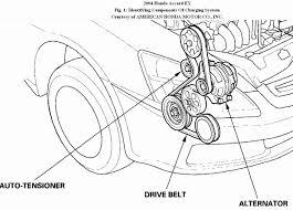 2005 honda accord serpentine belt diagram new serpentine belt honda accord
