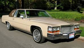 fleetwood brougham v8 coupe cadillac s