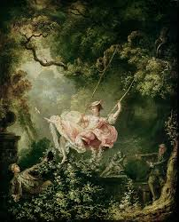 the painting the swing by jean honore fragonard