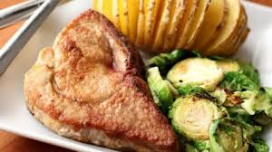 simple skillet pork chops barefeet in