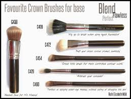 crown brush. ruth elizabeth: crown brushes - best makeup in the business. yes, really! brush