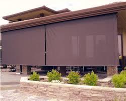 coolaroo outdoor shades. Coolaroo Select Southern Sunset 90 Uv Block Exterior Roller Shade Outdoor Shades L