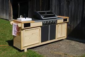 Steingrill Outdoor Küche Grill Bereich Im Garten Küche
